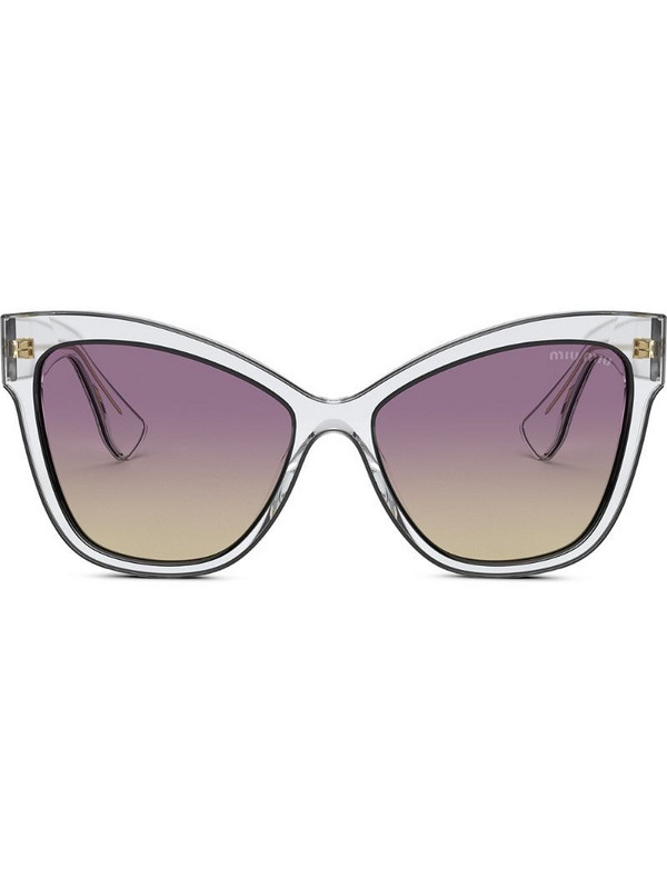 Miu Miu Eyewear La Mondaine sunglasses in neutrals