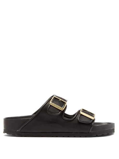 Birkenstock X Il Dolce Far Niente - Arizona Fullex Satin Sandals - Womens - Black