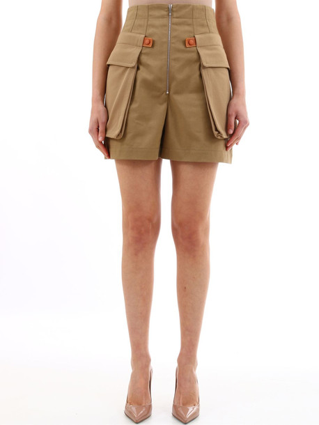 Loewe Cargo Shorts Beige