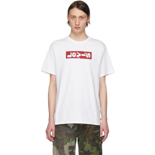 Levi's White Oversized Logo T-Shirt