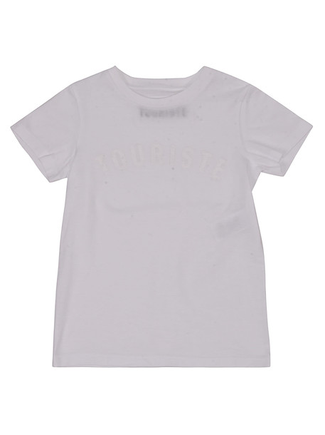 Touriste Classic Short Sleeve T-shirt in white
