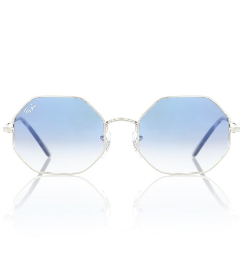 Ray-Ban RB1972 octagonal sunglasses in blue