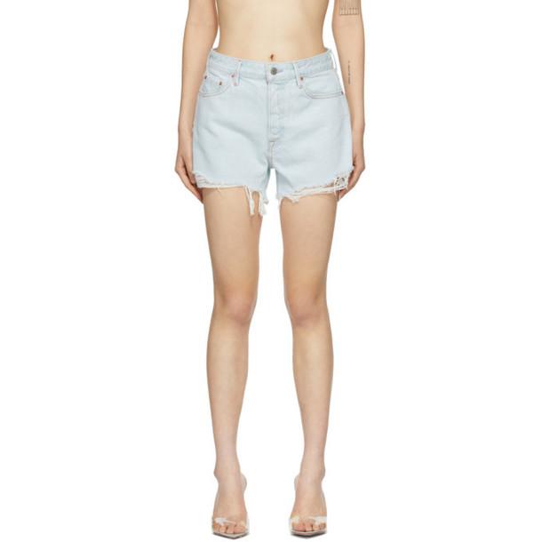 Grlfrnd Blue Denim Helena Shorts