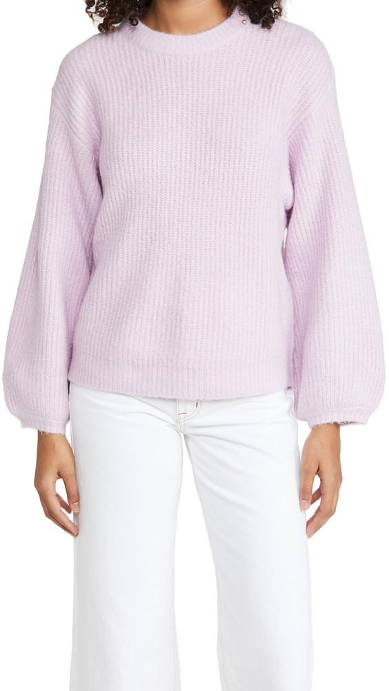 Lost + Wander Lost + Wander Nikkie Sweater in violet