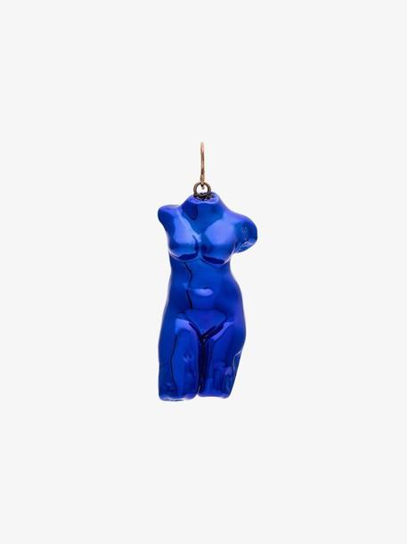 Marni Blue body single earring