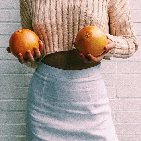 VG Cover Stories Linen Mini Skirt // White