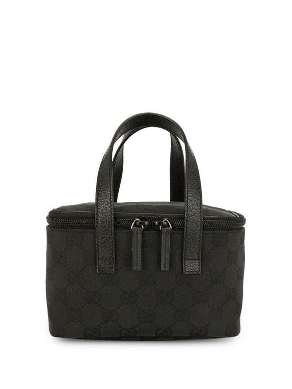 Gucci Pre-Owned GG Supreme mini tote bag in black
