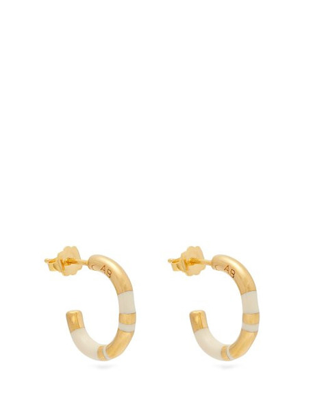 Aurélie Bidermann - Positano Small Gold Plated Earrings - Womens - Gold