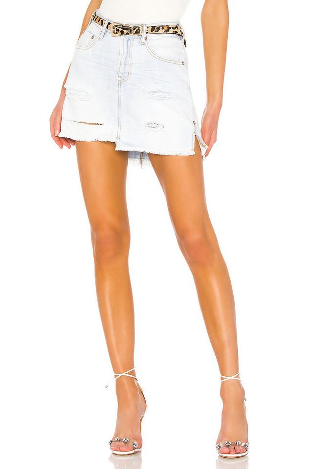 One Teaspoon 2020 Mini High Waist Skirt