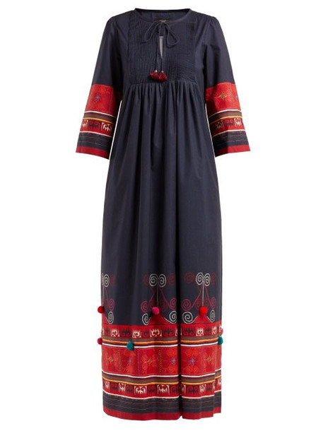 Weekend Max Mara - Fase Dress - Womens - Navy Multi