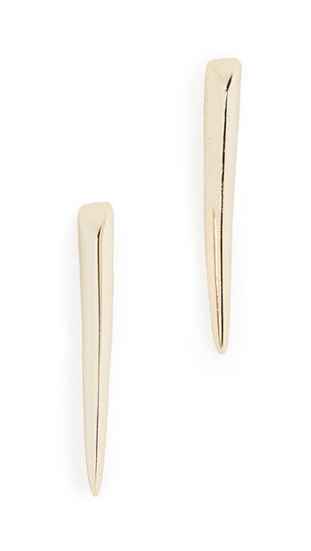 Shashi Desert Eagle Earrings in gold