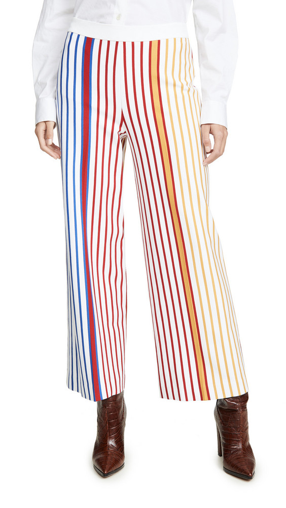 Rosetta Getty Pull On Straight Trousers in multi