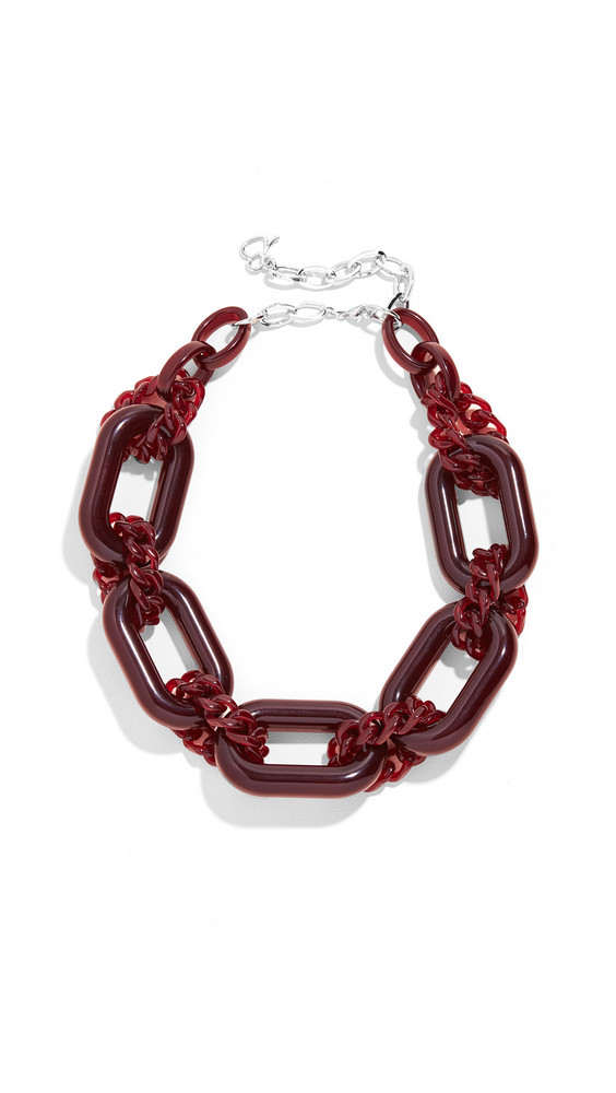 Diana Broussard Noel Necklace in transparent