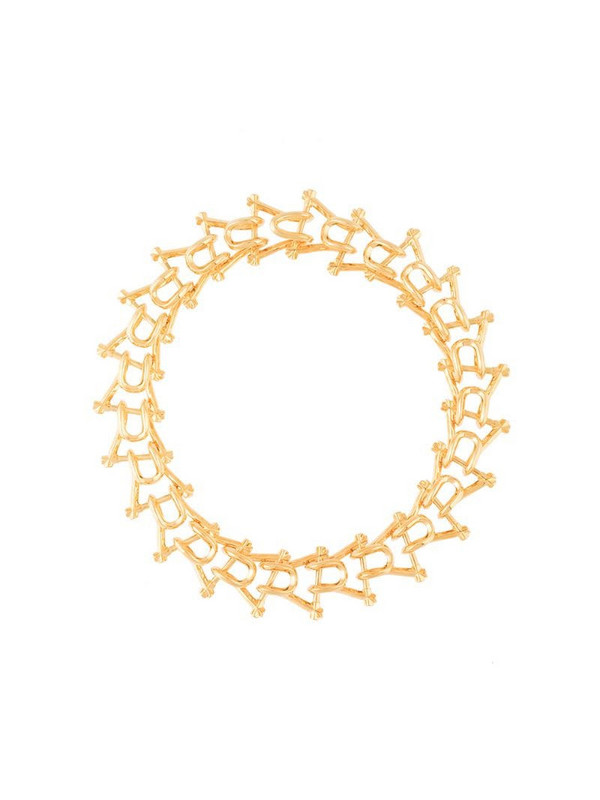 THIRD CROWN Marcy link necklace in gold