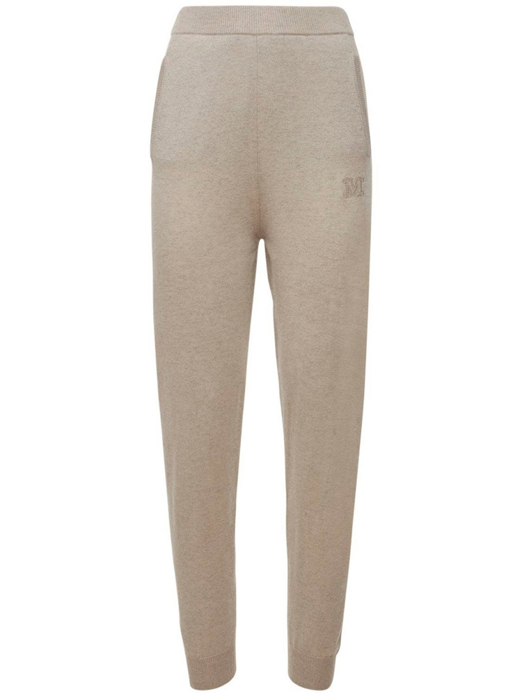 MAX MARA Wool & Cashmere Knit Sweatpants