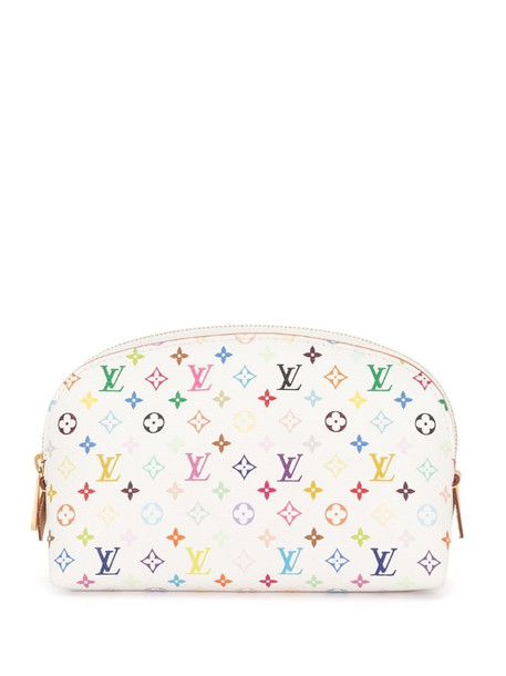 Louis Vuitton 2011 pre-owned monogram cosmetic pouch in white