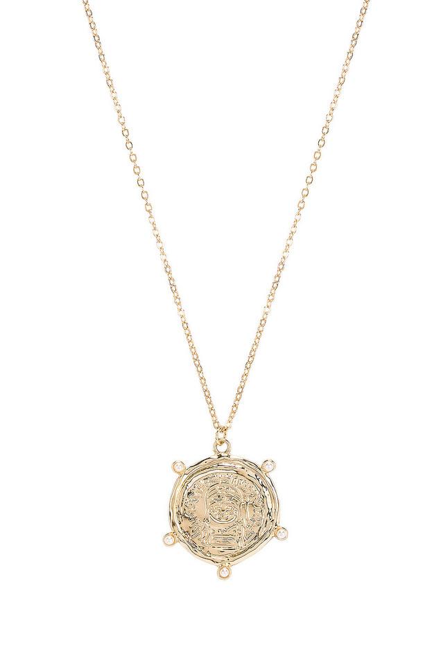 Amber Sceats X REVOLVE Berlin Necklace in gold / metallic
