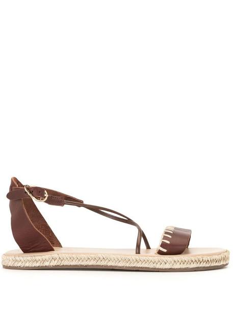 Ancient Greek Sandals Lola espadrille sandals in brown