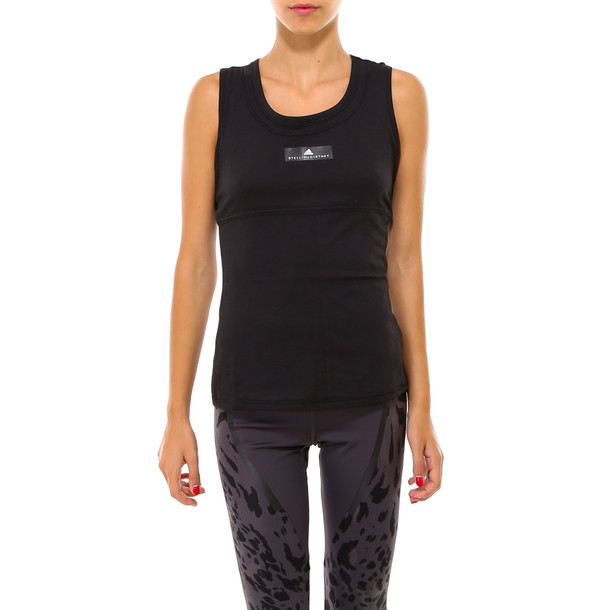 Adidas by Stella McCartney Train Tank Top in black