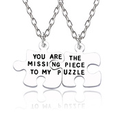 jewels,gullei,gullei.com,bff,bff necklaces,necklace,puzzle necklaces,couple necklaces,couple gifts,valentines gifts,anniversary gifts,gifts for him and her,birthday gifts,birthday gifts for best friend