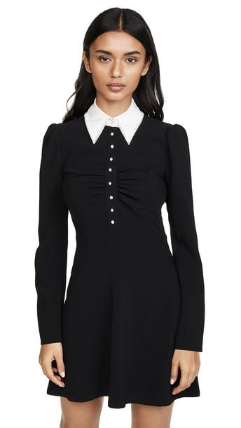 Cinq a Sept Aubrey Dress in black / ivory