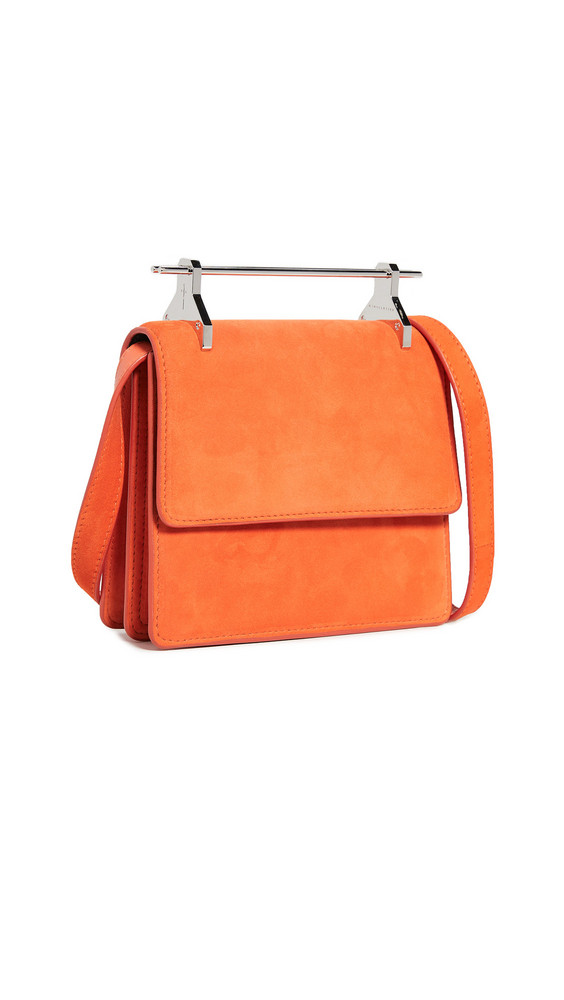 M2MALLETIER Mini Collectioneuse Bag in orange / red