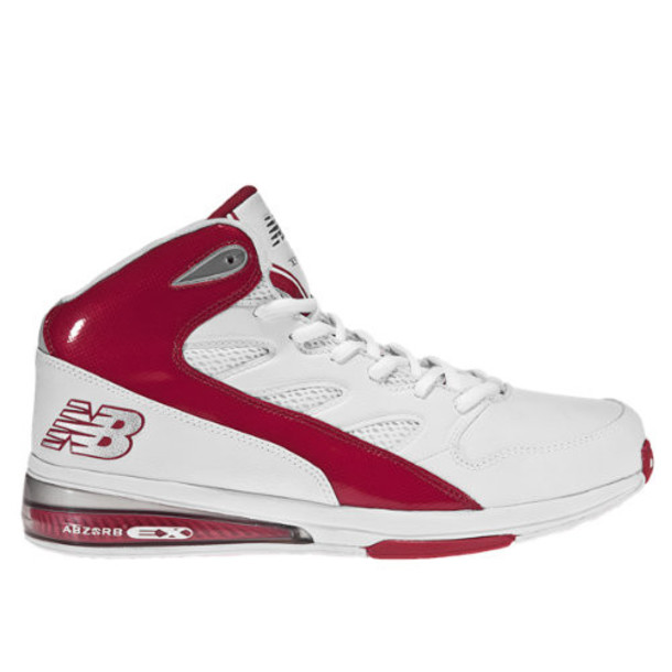 New Balance 891 Men's Basketball Shoes - White, Red (BB891RD)