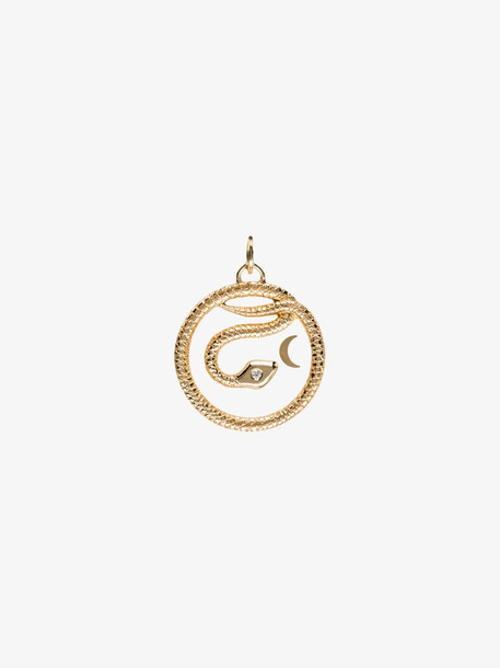Foundrae Gold Wholeness Baby medallion necklace
