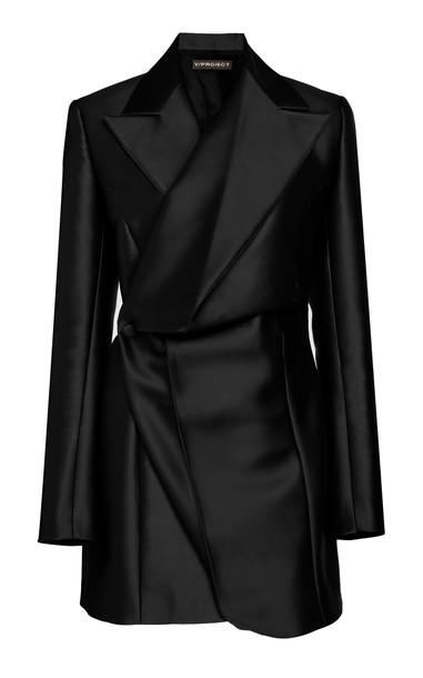 Y/Project Pop-Up Blazer Dress Size: 36 in black