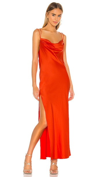 Michael Costello x REVOLVE Braxton Dress in Red