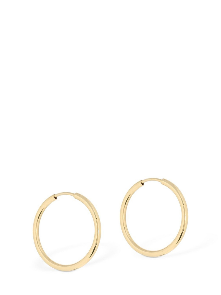 MARIA BLACK Senorita 20 Hoop Earrings in gold