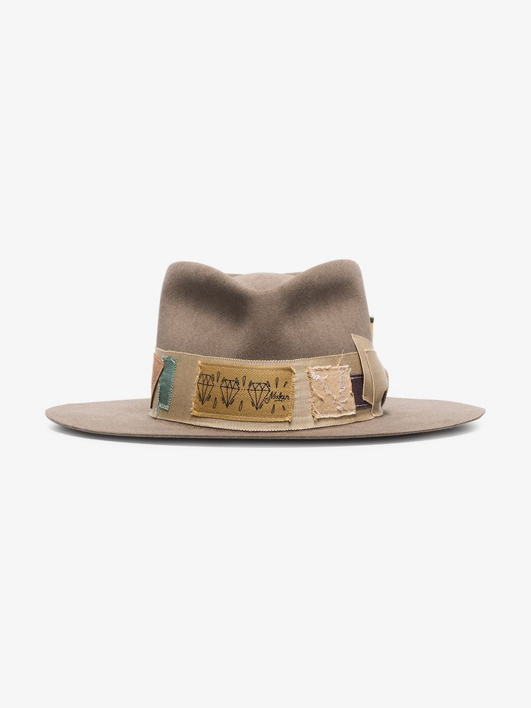 Nick Fouquet NF BOHEMIA HAT in brown