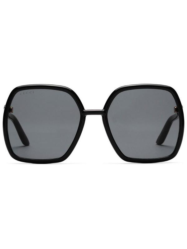 Gucci Eyewear 648607J1691 square-frame sunglasses in black