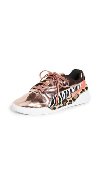 PUMA Aeon Sophia Webster Sneakers in gold / rose