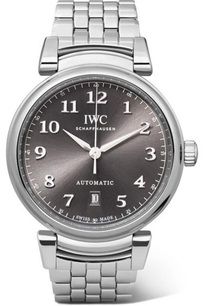 IWC SCHAFFHAUSEN - Da Vinci Automatic 40mm Stainless Steel Watch - Gray