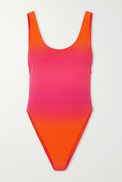 Jacquemus - Camerio Ombré Swimsuit - Pink