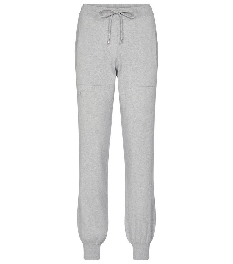 Barrie Cashmere sweatpants in grey