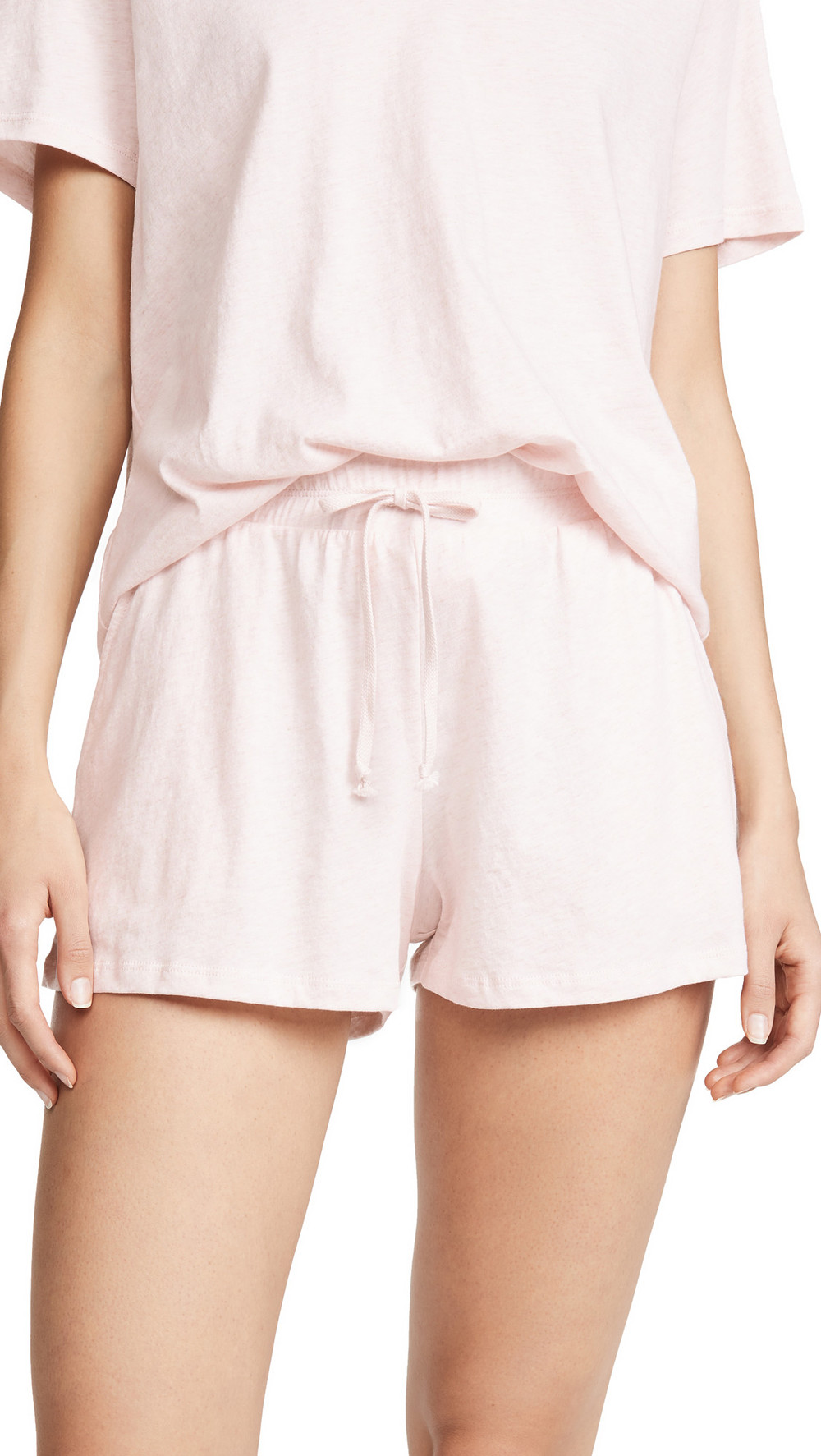 Skin Ottie Shorts in pink