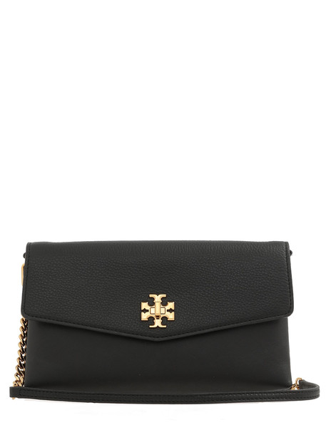 Tory Burch Kira Mixed-materials Shoulder Bag in black