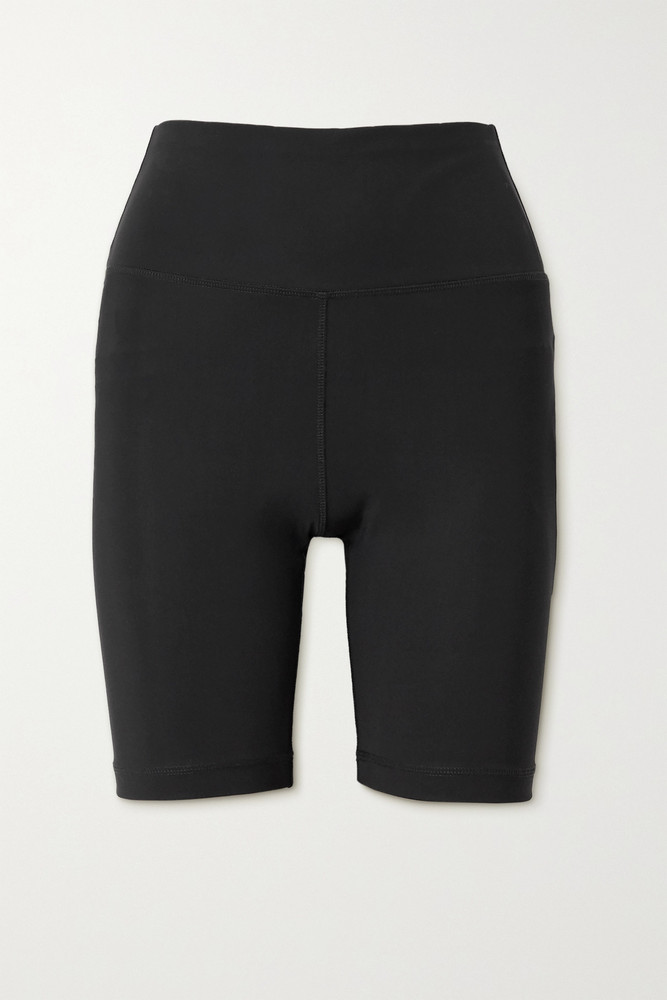 WARDROBE.NYC WARDROBE. NYC - Stretch-jersey Shorts - Black