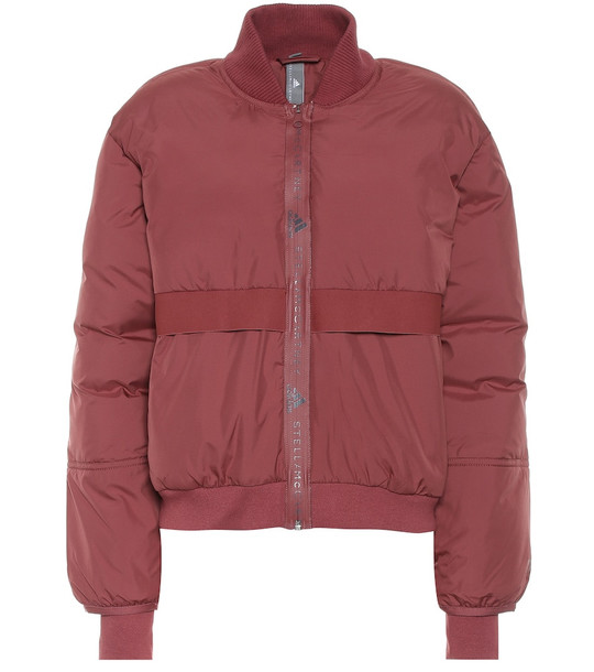 Adidas by Stella McCartney Bomber jacket in red