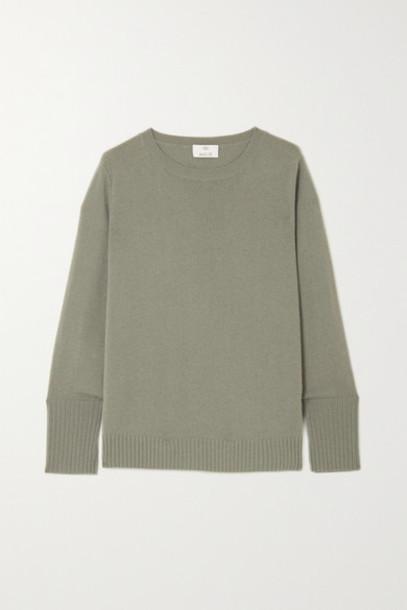 Allude - Cashmere Sweater - Green