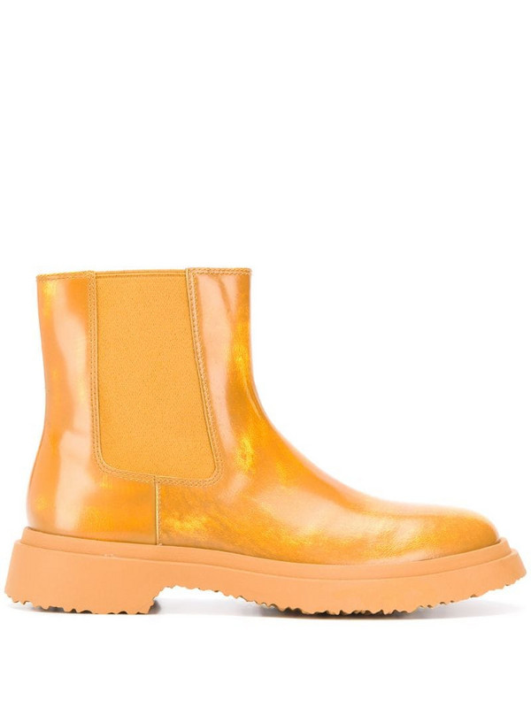 CamperLab Walden wellington boots in yellow