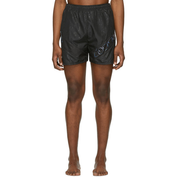 Cottweiler Black Lotus Swim Shorts