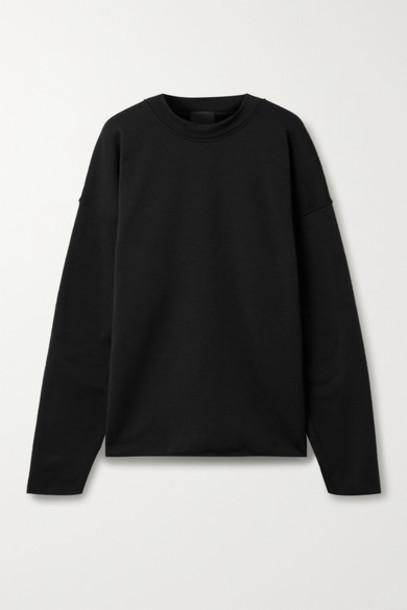 WONE - Oversized Fleece Sweatshirt - Black