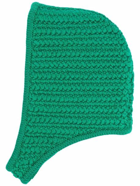 Miu Miu textured knit hat - Green