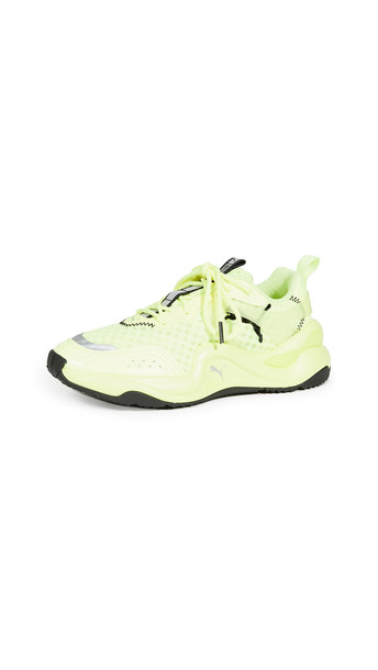PUMA Rise NEON Sneakers in yellow