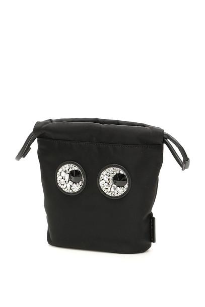 Anya Hindmarch Drawstring Mini Bag in black