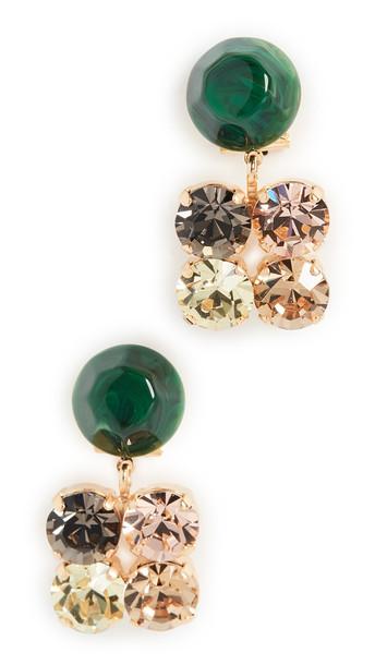 Rachel Comey Beam Drop Earrings in multi