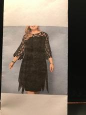 dress,black cocktail dress
